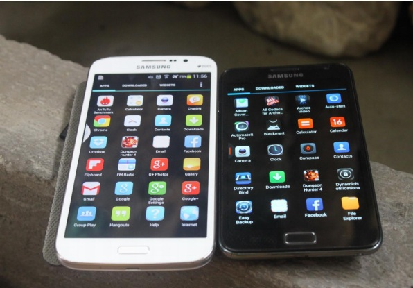 Black is black on Amoled devices like the first Galaxy Note