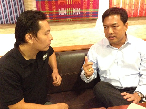 Dexter Tan, country manager of Spoken Communications, discusses the company's plans with Newsbytes.ph's Tom Noda