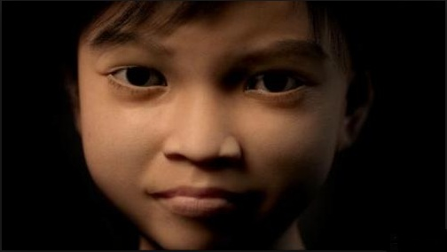 """""""Sweetie"""", a 10-year old virtual girl created by Dutch-based children's right group Terre Des Homes to track and catch online predators"""