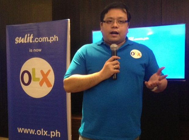 Sulit.com.ph founder and now OLX Philippines managing director RJ David