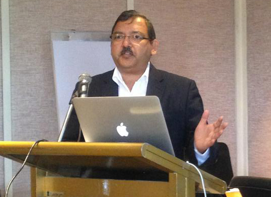 PK Gupta, senior director and chief architect of EMC's backup recovery systems practice in Asia-Pacific and Japan