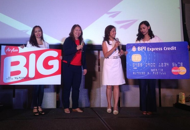 Photo shows execs from BPI and AirAsia during the media launch