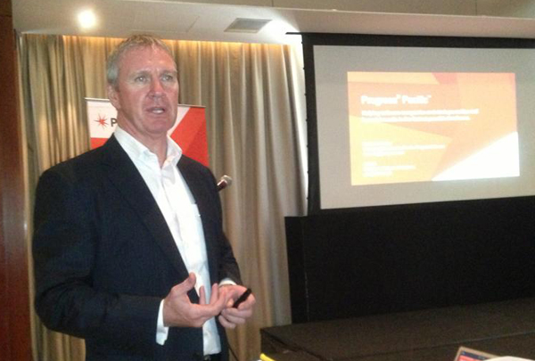 Progress Software in Asia-Pacific and Japan managing director Stephen McNulty