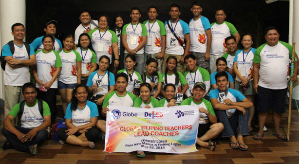 The first batch of Global Filipino Teachers (GFT) lead coaches