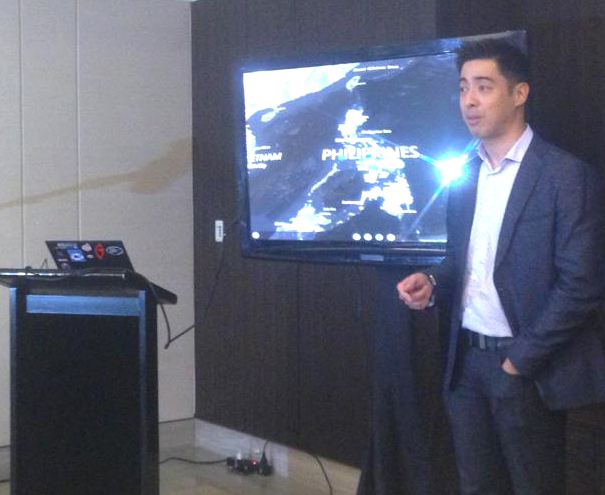 Microsoft Philippines server and tools business group lead Joel Garcia