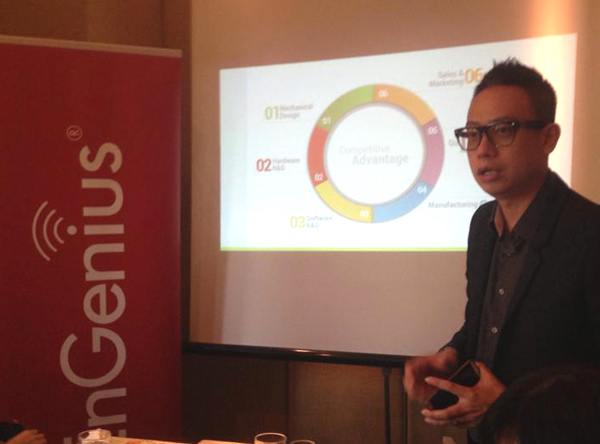 EnGenius regional general manager  Lawrence Lim