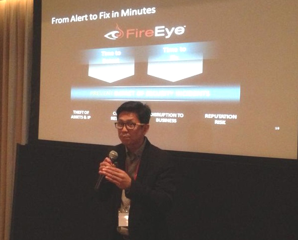 FireEye Philippines country manager Thomas Acero