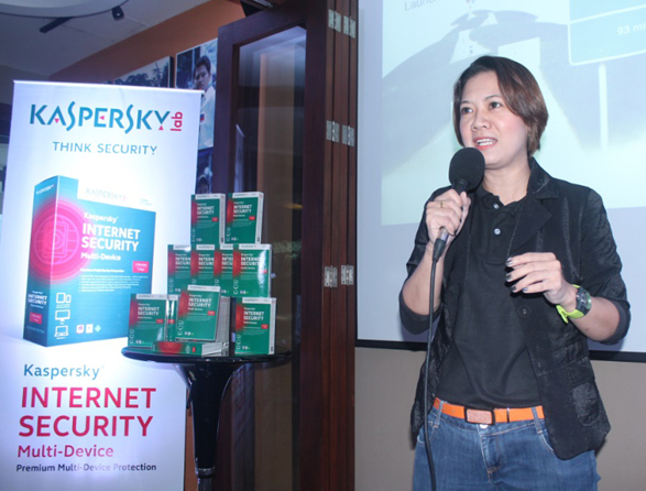 iSecure Networks marketing manager Marilen Young