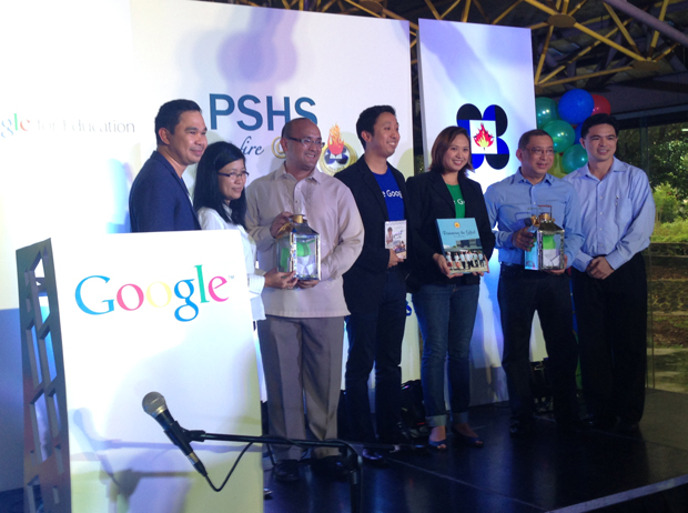 Several high schools in the Philippines including the country's premier science high school have adopted Google Apps for education