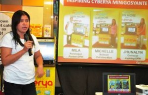 Norelyn Peralta has expanded her Internet rental business