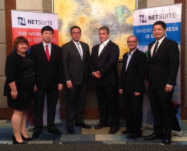 NetSuite executives and partners