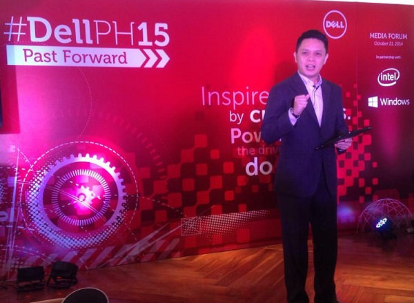 Dell Philippines country manager Chris Papa
