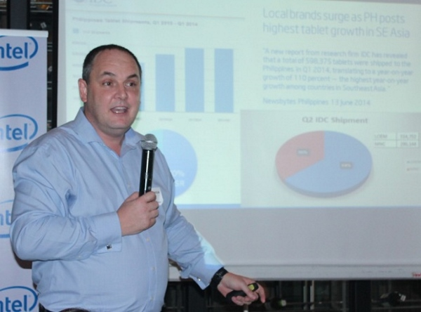 Calum Chisholm, Intel Philippine country manager
