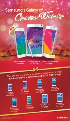 Samsung PH Slashes Prices Of Galaxy Models For Holiday