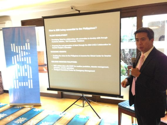 IBM Philippines country general manager Luis Pineda