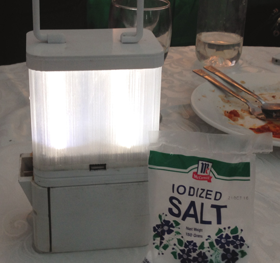 Are Salt Lamps Meant To Leak Water : Photo Tech start-up creates salt water-powered lamp - Newsbytes Philippines