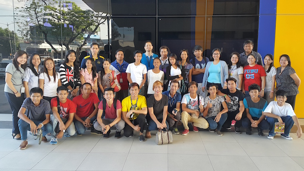 The first batch of ALS students under the deal