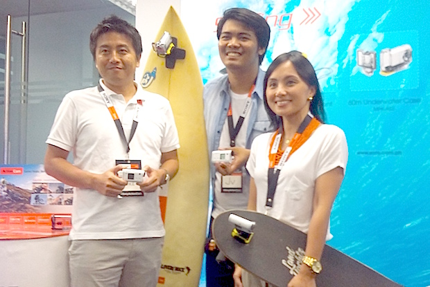 The Action Cams were launched during the grand opening of Flowhouse Manila