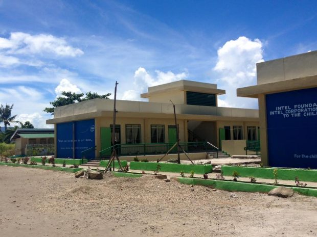 The four school buildings, which can stand storms with winds of 250 KPH and Intensity 7 earthquakes, house a total of 10 classrooms.
