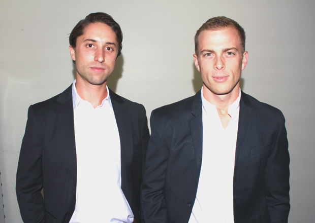 TaskUs co-founders Bryce Maddock (left) and Jaspar Weir