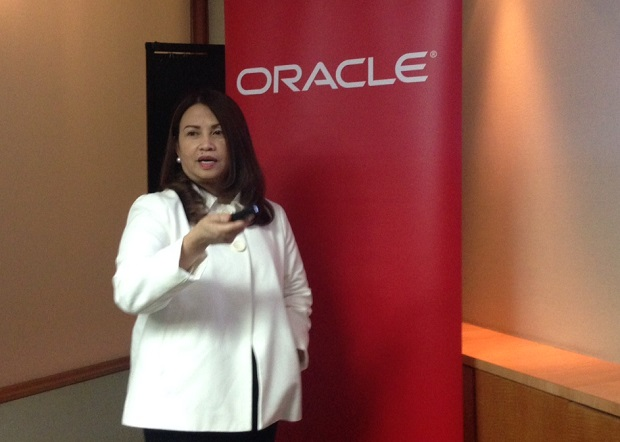 Oracle Philippines country managing director Mina Lim