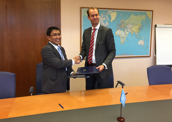 Gepty signed the agreement on behalf of the IPOPHL while Joakim Reiter, UNCTAD deputy secretary-general, signed the agreement for the UN agency