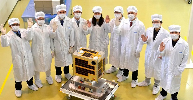 The country's first micro-satellite, the Diwata-1, was co-developed by Filipino scientists in Japan under the PHL Micro-satellite Program