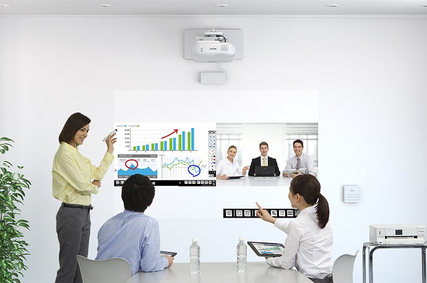 Ultra Modern Classroom ~ Interactive projector key to sustaining discussion in