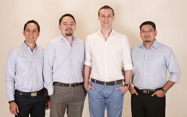 The new leadership team at OLX PH. From left: Cris Concepcion (chief marketing officer), Steve Santos (Property 24 Philippines country manager), Gian Carlo Bonsel (general manager), and Bit Santos (chief technology officer). Not in photo are Raffy Montemayor (chief operating officer) and Peter Koning (chief product officer)