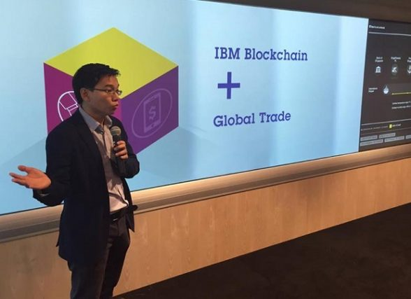 The Watson Center will also serve as incubator for companies using blockchain technology