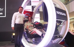 Nissan PH chief Ramesh Narasimhan with 2008 Nissan PlayStation GT Academy in Europe winner Lucas Ordonez