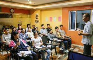 Enthusiasm and a zest for learning the rudiments of BPO/call center work, is evident in the faces of these Sitel Academy enrollees
