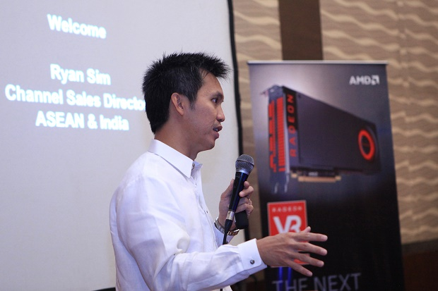 Ryan Sim, AMD channel sales director for Asean and India