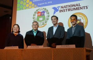 USC and NI officials during the MOU signing