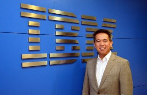 IBM Philippines country manager Luis Pineda