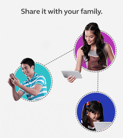 Data Sharing with Family