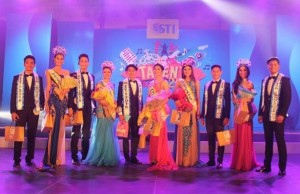 The winners of the Mr. and Ms. STI