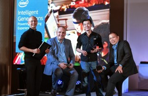 Intel PH executives (from left) Wowie Wong, Calum Chisholm, Jason Ty, and Randy Kanapi have all left the company. Photo credit: www.digitalfilipina.com