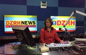 """Radyo Henyo"" co-anchor Ruby Cristobal"