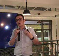 At a yearend press briefing in Makati City, Uber Philippines country manager Lawrence Cua says the ride-sharing app now has around 600,000 users in the country. Uber launched a number of new services this year, including uberPool