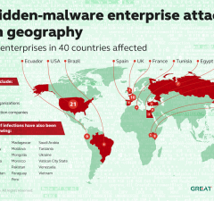 In total, infections have been registered in 40 countries