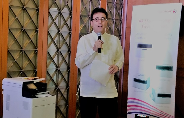 Ken Kozak, general manager for sales at Fujix Xerox Printer Channel (FXPC) Philippines