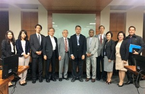 Officials of the National Research Council of the Philippines (NRCP) and the Science Council of Japan (SCJ) paid a courtesy call recently to DOST secretary Fortunato de la Peña to discuss the conference to be held on June 14-16 at the PICC