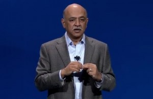 IBM Research senior vice president Arvind Krishna at the InterConnect 2017 in Las Vegas