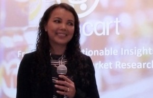 Snapcart co-founder and chief data officer Mayeth Condicion