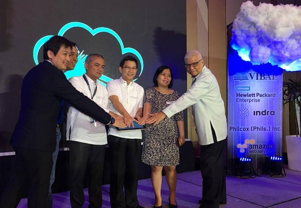 Officials from DICT, DOST, and Vibal Group lead the re-launch of GovCloud