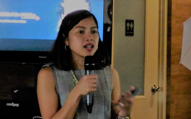 Huawei Philippines executive Corinne Bacani