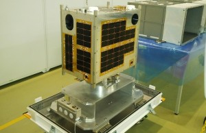 The Diwata-1 before it was launched into space last year