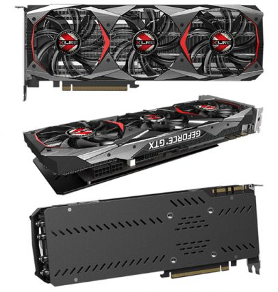 PNY GeForce GTX 1080 Ti XLR8 Gaming OC - 3