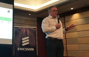 Ericsson Philippines and Pacific Islands president and country manager Sean Gowran